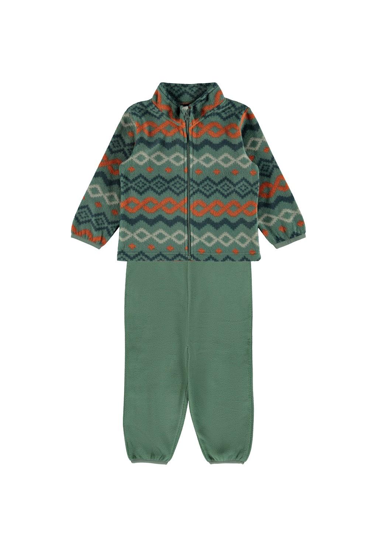 Spektra Fleece Set, Kids - Duck Green