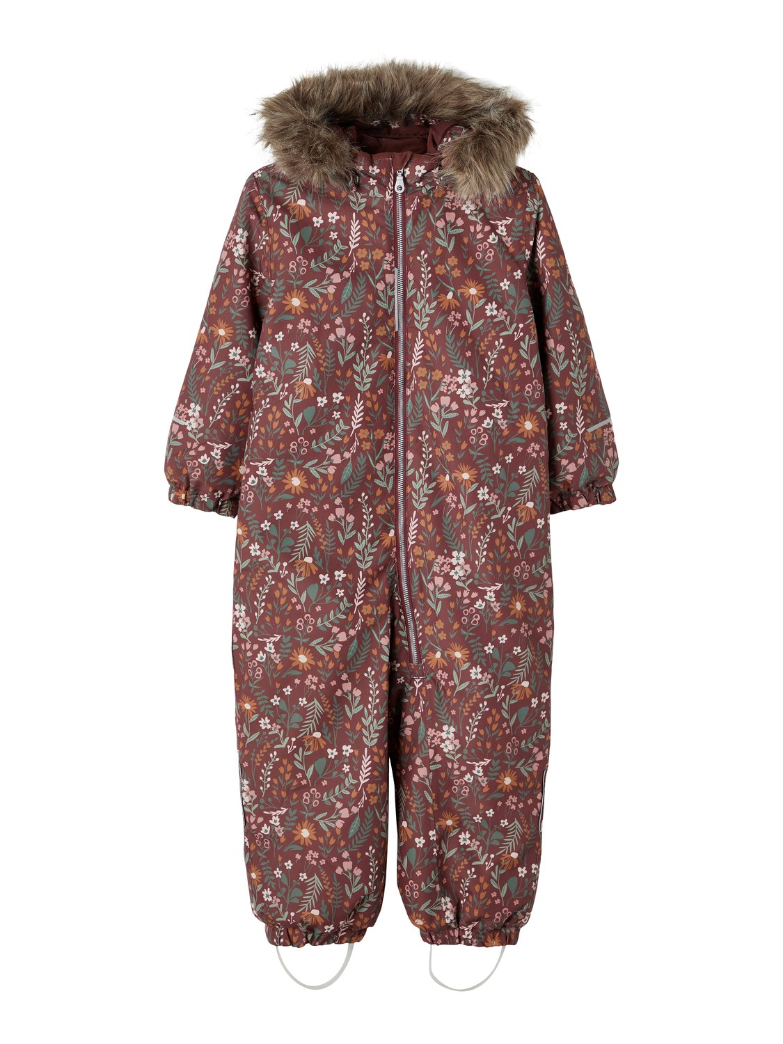 Snow Suit Flower - Red Mahogany