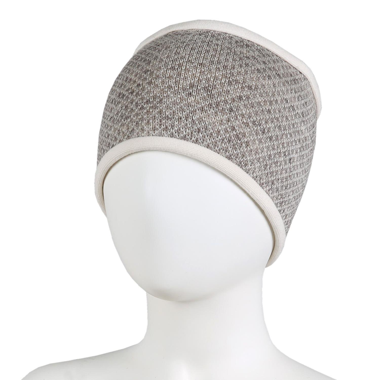 KIVAT Wool Headband, Patterns - Beige/Cream