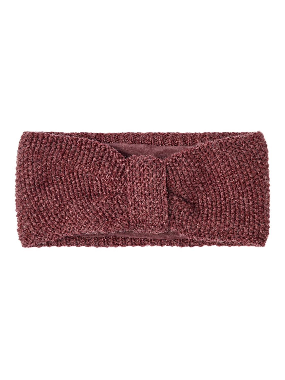 Wrilla Wool Knit Headband - Red Mahogany