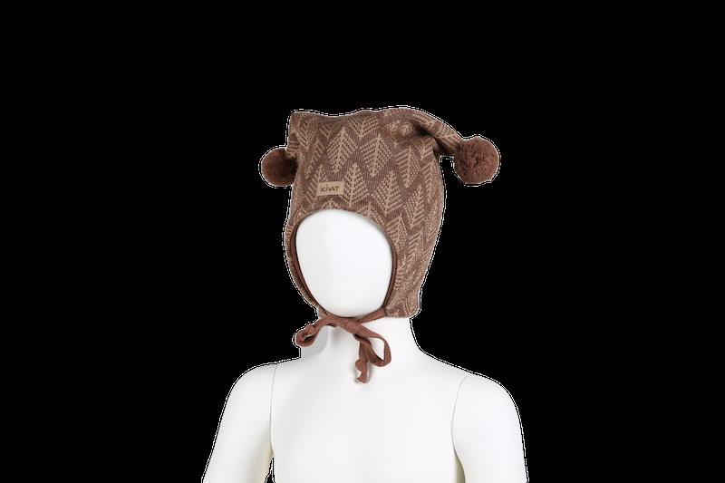 KIVAT Wool Knytelue - Brown