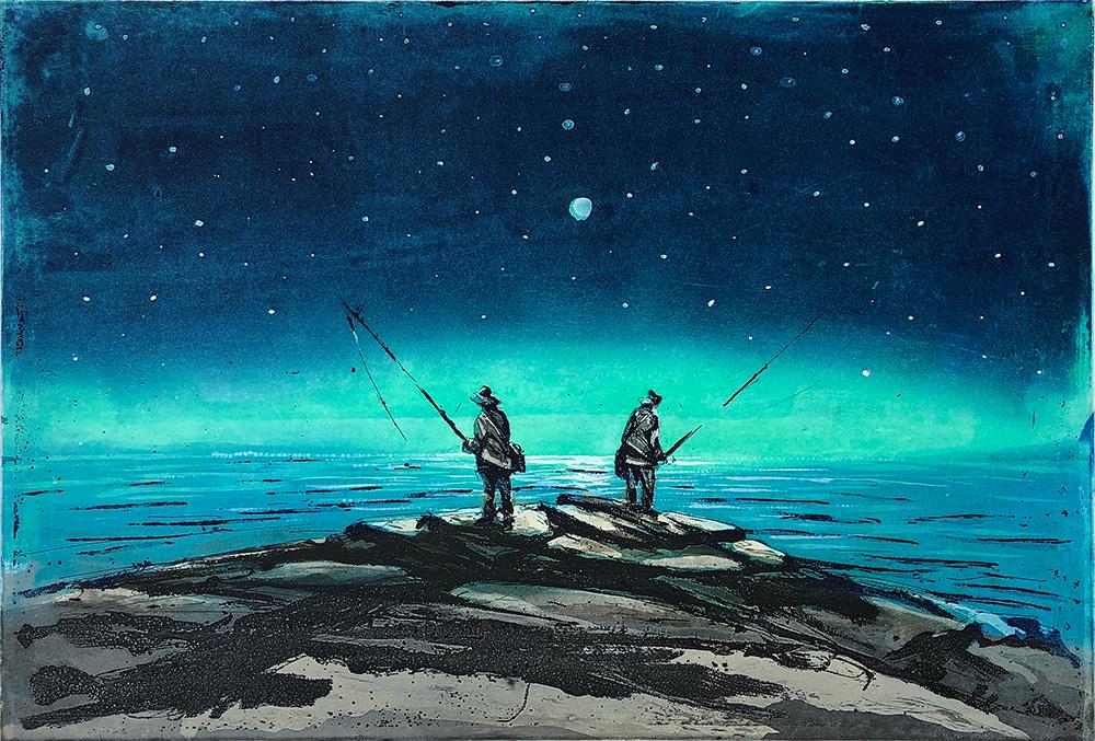 Finborud, Kristian - Nattens fiskere