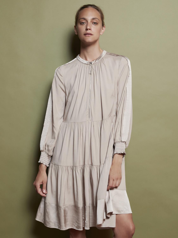 Alva shirt dress with zipper