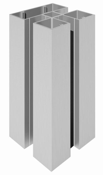 Vista 200 stolpe 100x100mm firkant pr meter