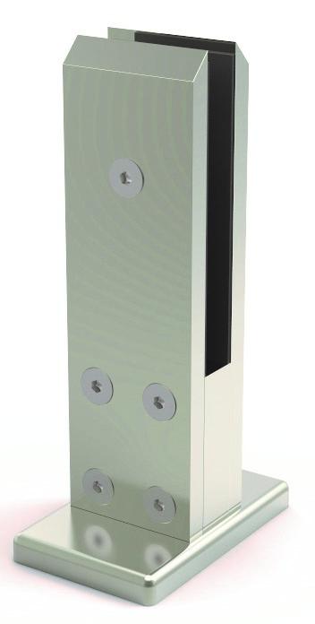 Vista V320 stolpefot firkant pr stk