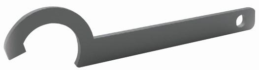 Elegant AL50 C-stramme økkel pr stk