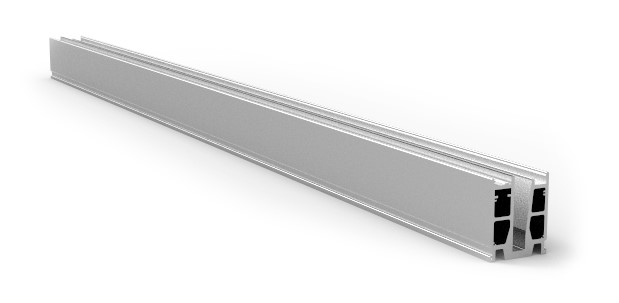 Elegant CX50 hovedkloss forboret pr stk a 200cm