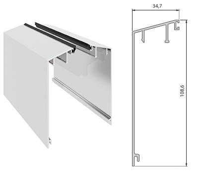 Elegant C50 deksel type A pr meter