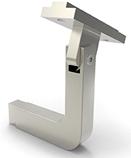 L-feste for håndrekke justerbart for 60x25 håndrekke pr stk