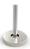 Stolpefot standard for Ø40 stolpe rund eller firkantet pr stk