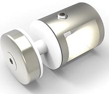 Glass adapter for 17x17mm kryssbjelke pr stk