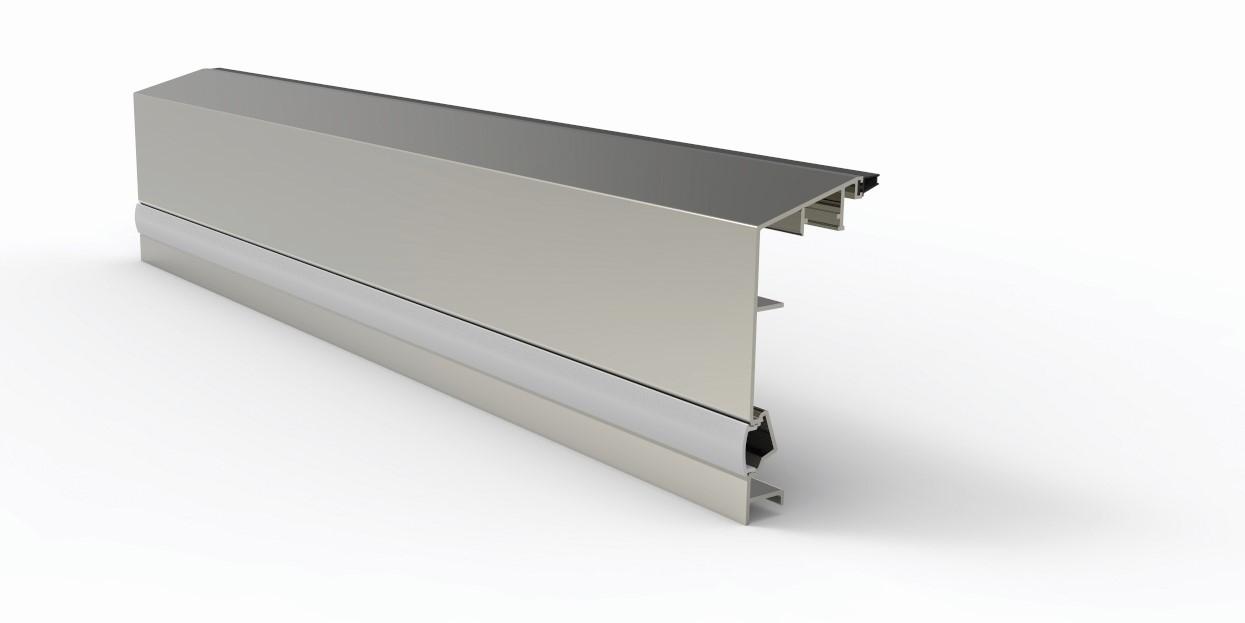 Elegant C50 deksel type A med led lys pr meter