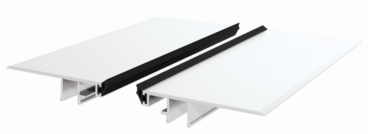 Elegant CA50 deksel for 16,72 glass pr meter