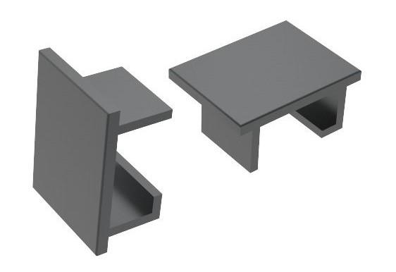 Topplokk for sideprofil for F40 og F76 pr stk