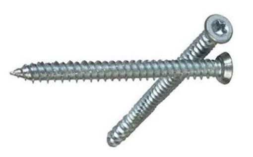 Skrue galvanisert for betong pr stk