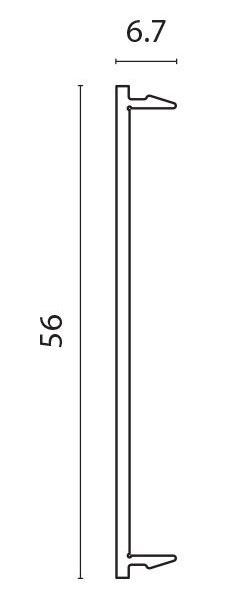 Deksel bred for PR9458 pr meter
