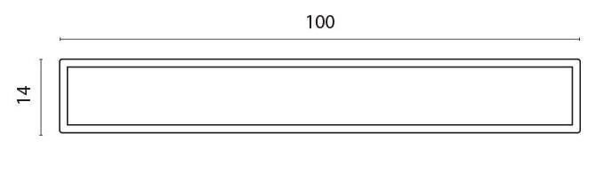 Lamellprofil for F60 pr meter