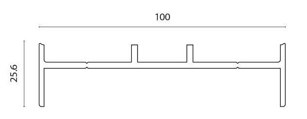 Profil adapter for F100 pr meter