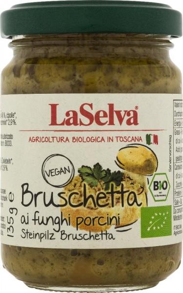 Bruschetta Steinsopp La Selva, 135g, økologisk og vegan