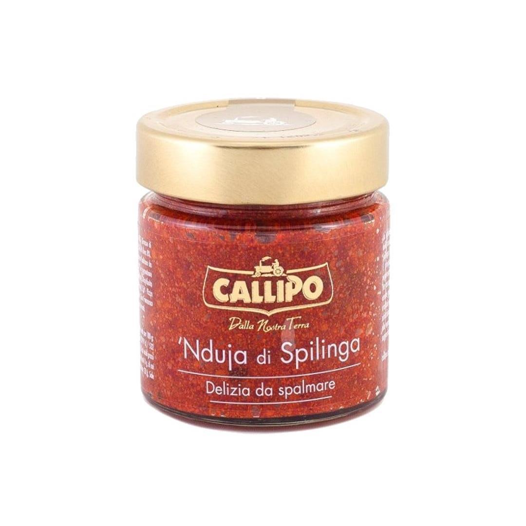 """Callipo Chili og svinekrem """"`Nduja Spilinga"""" 200g"""