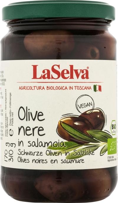 Svart Oliven 310g