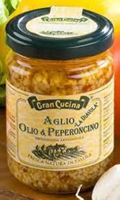 Gran Cucina Spicy Hvitløks pastasaus 130g
