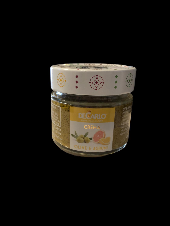 De Carlo Grønn olivenkrem med sitrus 130g