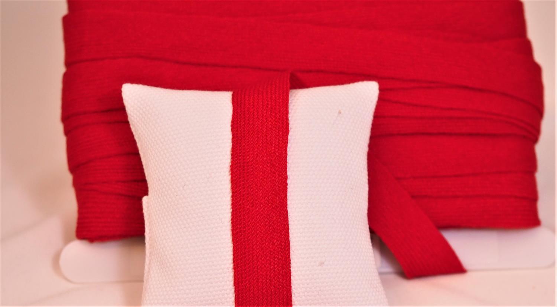 strikkeband  rød 518