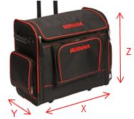 Bernina Trolly bag