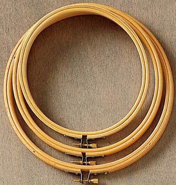 syring/ broderi-ring  30cm