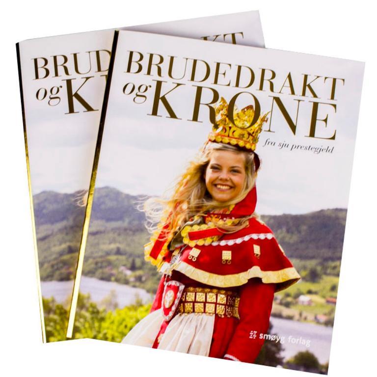 Brudedrakt og krone bok
