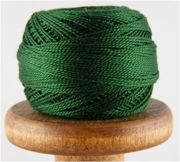 perlegarn nr 8 grønn