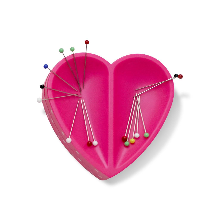 Magnet nålepute hjerte