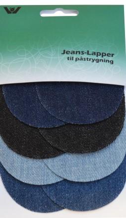 Jeans Reperasjonslapp