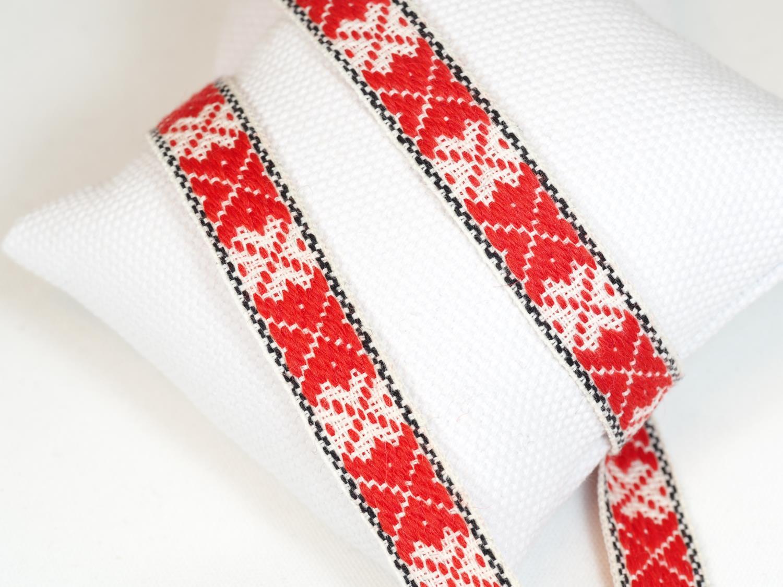 Fana bred rød/hvit tradisjon