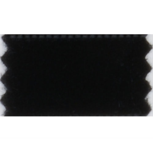Fløyels bånd, 50mm, svart