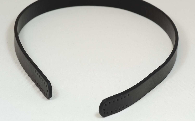 Skinn veskehanker sort