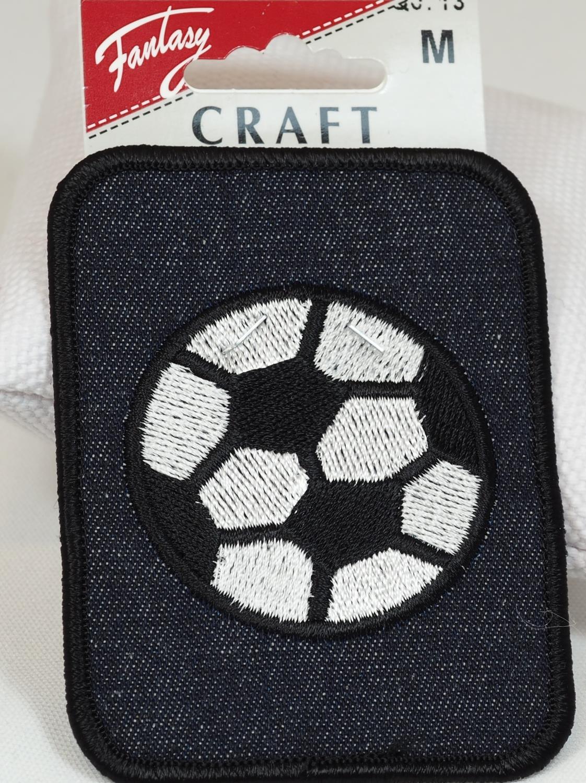 Jeansmerke med fotball