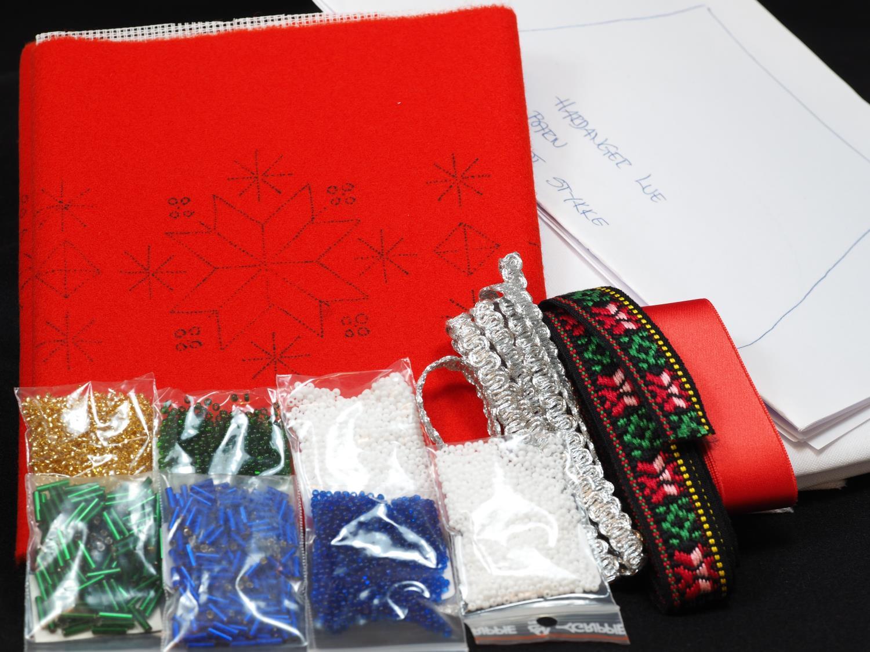 Hardanger materialpakke barne lue