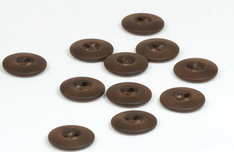 Knapp brun 20mm