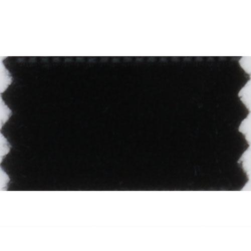 Fløyelsband 36mm svart