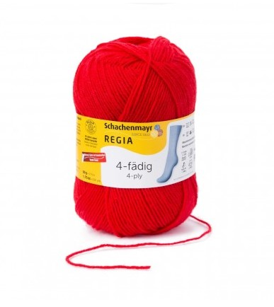 Regia 4-tråd  rød