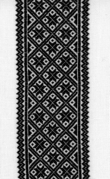 Materialpakke svartsaum forklebord
