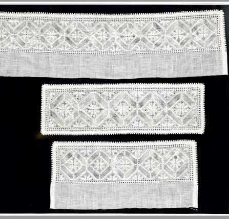Materialpakke skjortelinninger hard. 14-tråd