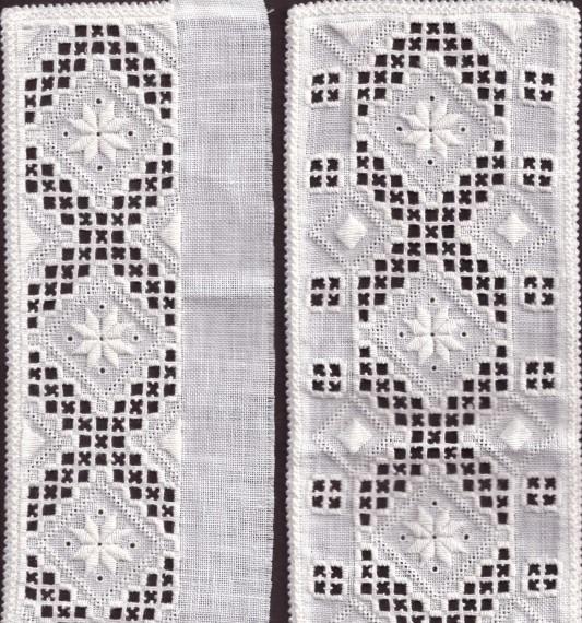 Materialpakke Hardanger skjortebroderier
