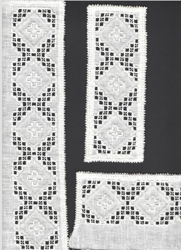 Materialpakke Hardanger skjortebroderi