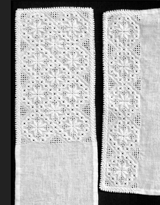 Materialpakke skjortebroderier Hardanger voksen