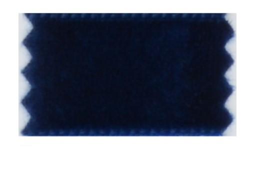 Fløyelsband blått 9mm