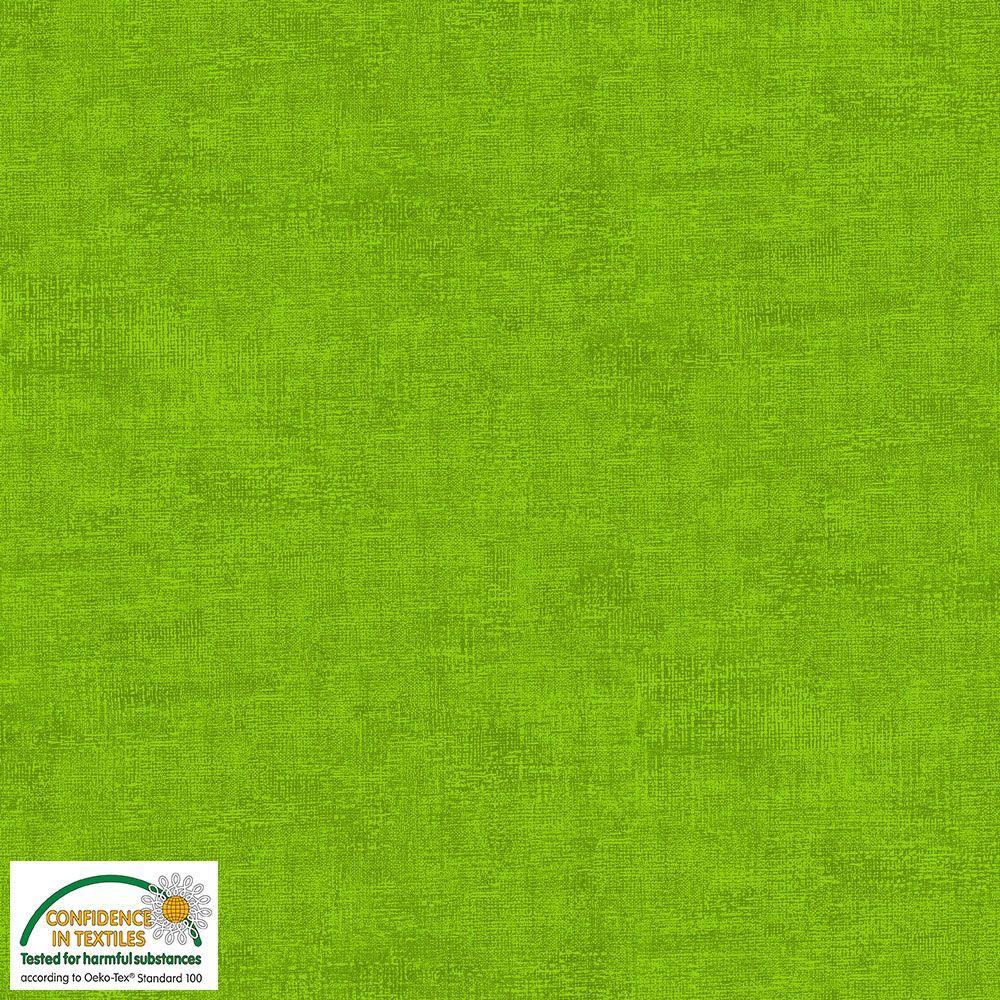Melange jersey lime grønn