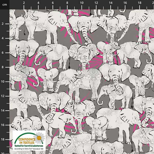 Wild in the wild elefanter